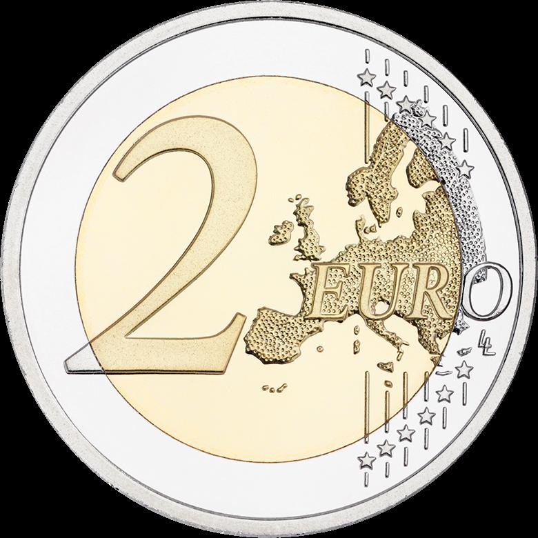 Suomalainen luonto 2 euron erikoisraha - Suomen Rahaliike