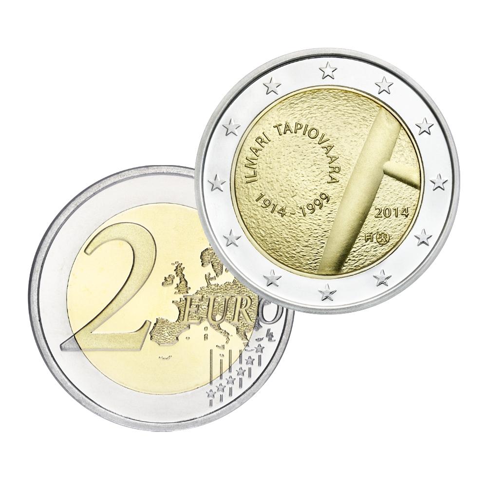 Suomalaiset 2 Euron Kolikot
