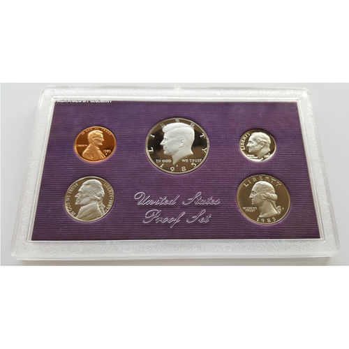 US Mint proof rahasarja 1990