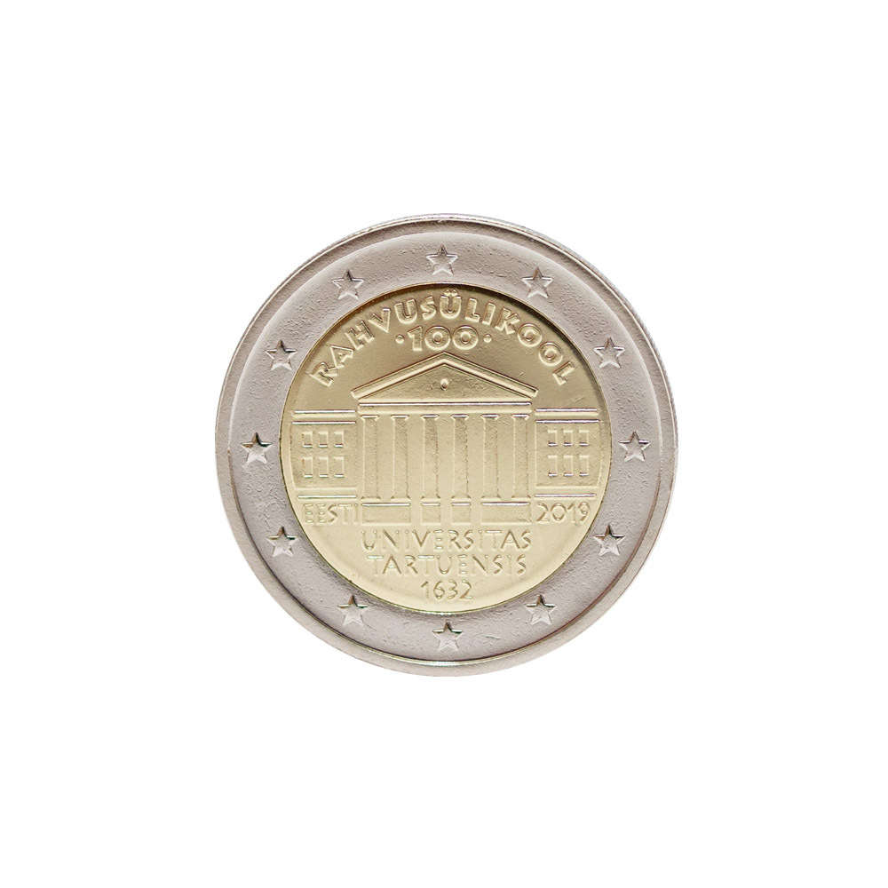 Virheellinen 2 Euron Kolikko