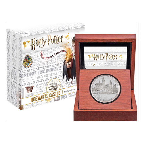 Harry Potter Tylypahka hopearaha - Limited edition